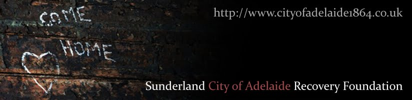 Sunderland City of Adelaide Recovery Foundation - Online Blog