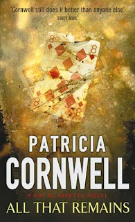 All That Remains by Patricia Cornwell book cover