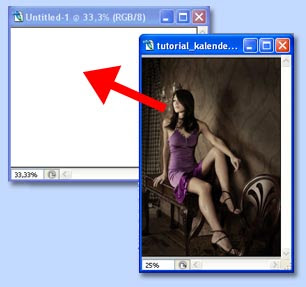 tutorial photoshop membuat kalender gambar 2