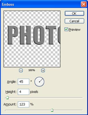 tutorial photoshop efek teks logam chrome 2
