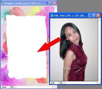 Gambar tutorial bingkai foto 8