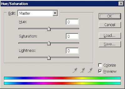 Penyesuaian Warna dengan Hue Saturation image