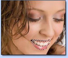 Mengubah warna lisptik dengan Photoshop image 3