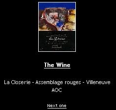 Un jour une étiquette un vin