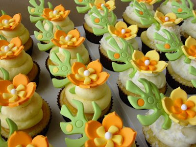 Ditzie Cakes Tropical Baby Shower