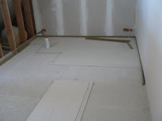Ons Huisje: Fermacell ondervloer