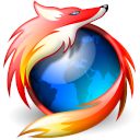 nice and different firefox logo