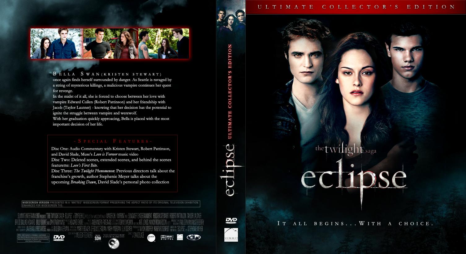dvd covers twilight saga eclipse 2010 dvd cover