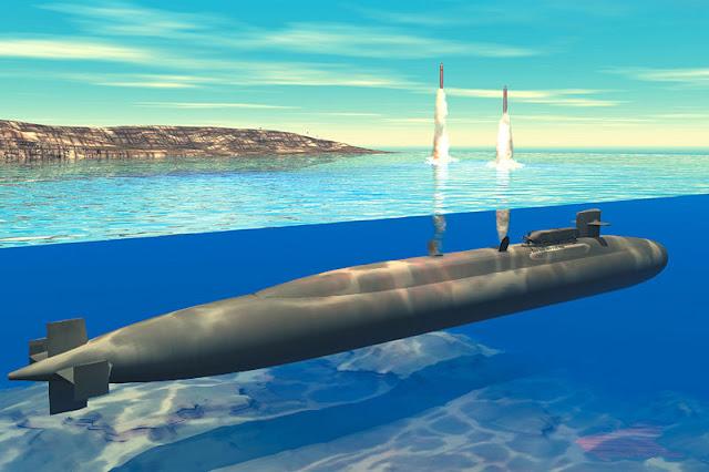 Resultado de imagen para submarino nuclear estadounidense clase Ohio,