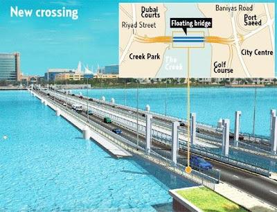 1 - Floating Bridge in Dubai