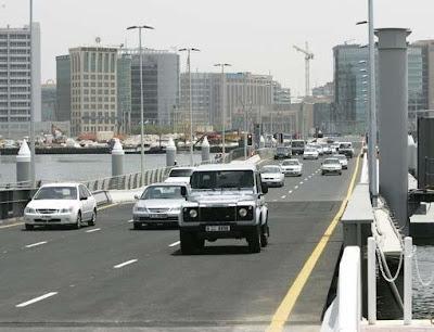 6 - Floating Bridge in Dubai