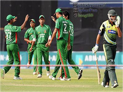 3 - Pakistan Vs Bangladesh