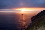 Puesta de sol desde FINISTERRE