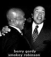 berry gordy e smokey robinson