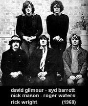 pink floyd - David Gilmour, Syd Barrett, Nick Mason, Roger Waters, Rick Wright (1968)
