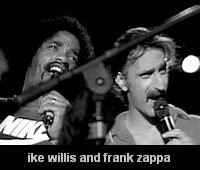 Ike Willis e frank zappa