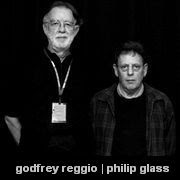 Godfrey Reggio and Philip Glass
