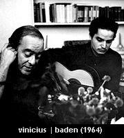 vinicius de moraes, baden powell em paris 1964