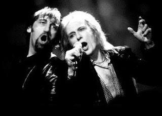 Jimmy Nail and Bill Nighy