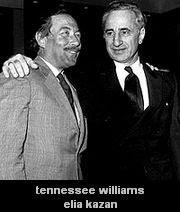 Tennessee Williams and Elia Kazan