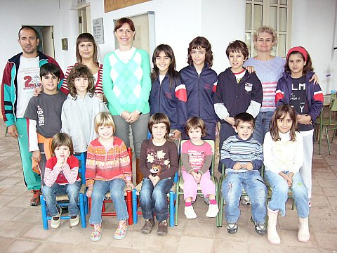 Alumnes i mestres