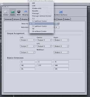 Logic Pro 7 將音軌輸出成 mono 單聲道 2