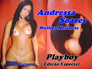 Playboy De Abril Especial A Mulher Melancia Andressa Filmvz Portal