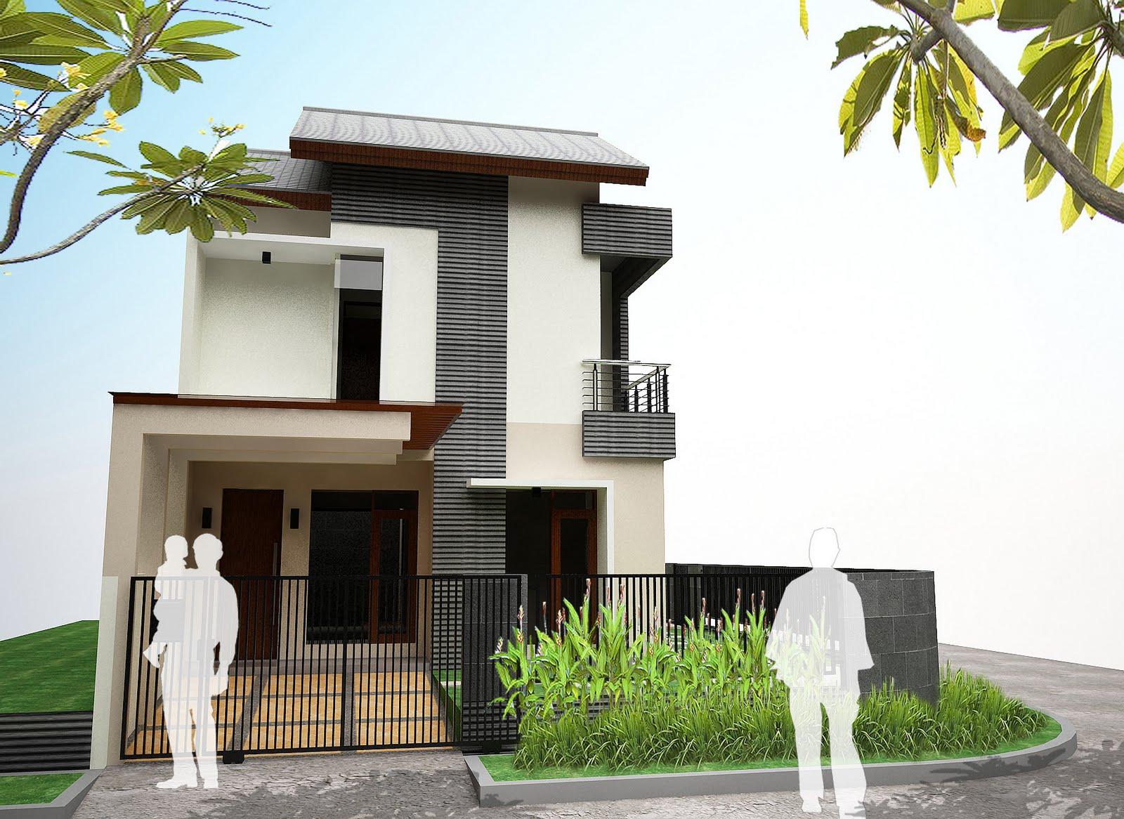 Lihat Letak Tangga Desain Rumah Minimalis 2 Lantai