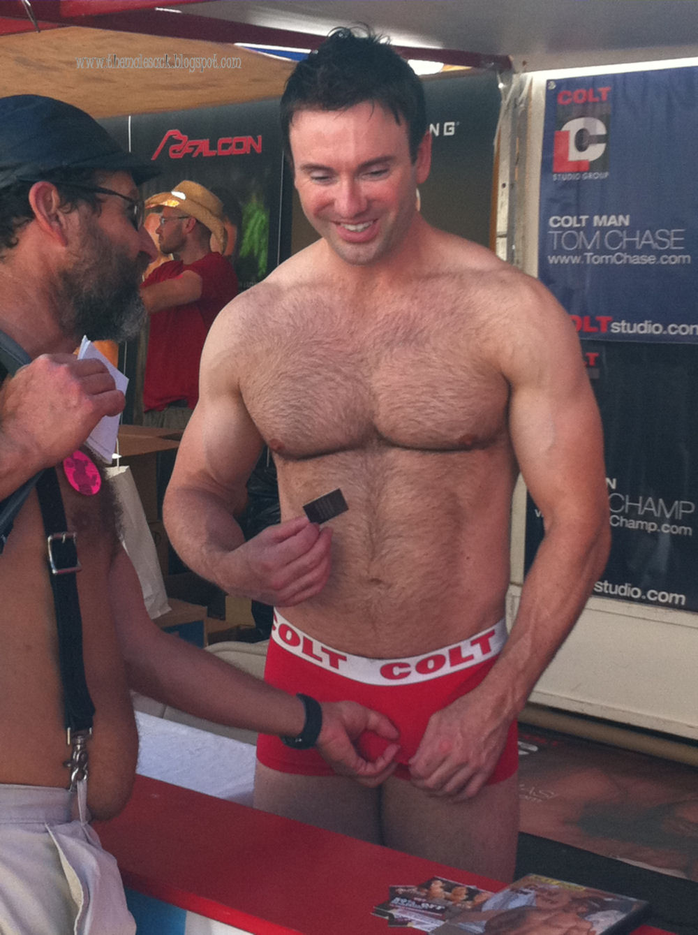 Naked guys at folsom