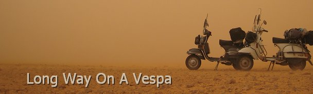 Long Way on a Vespa
