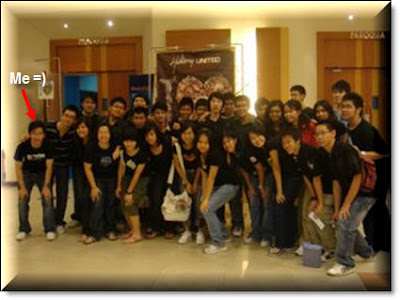 Group Picture at Hillsong United Live Concert