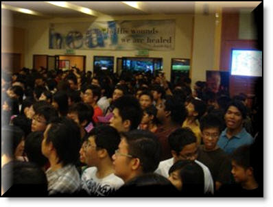 Hillsong United Live Concert crowd