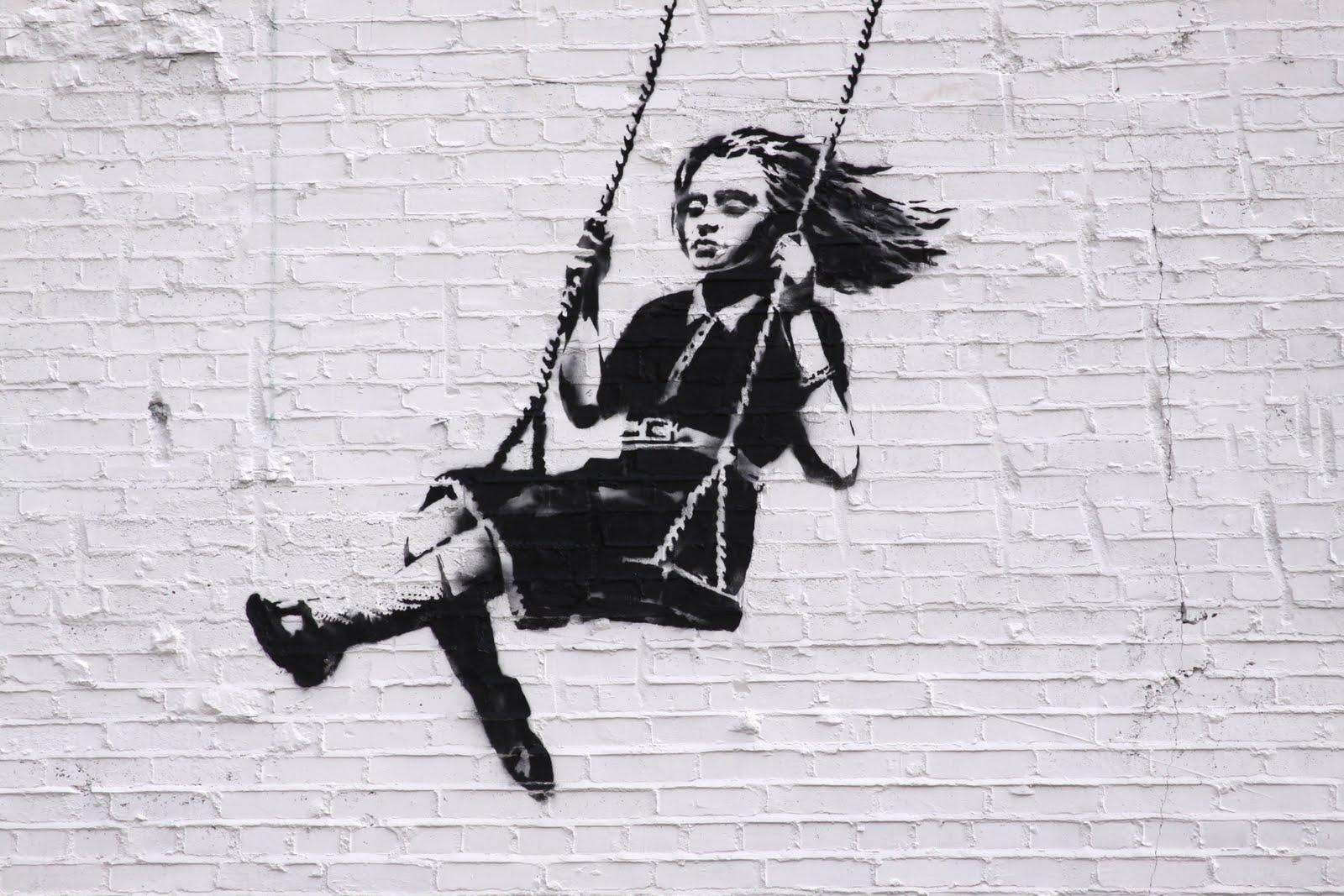 Crackade Sparkle Banksy