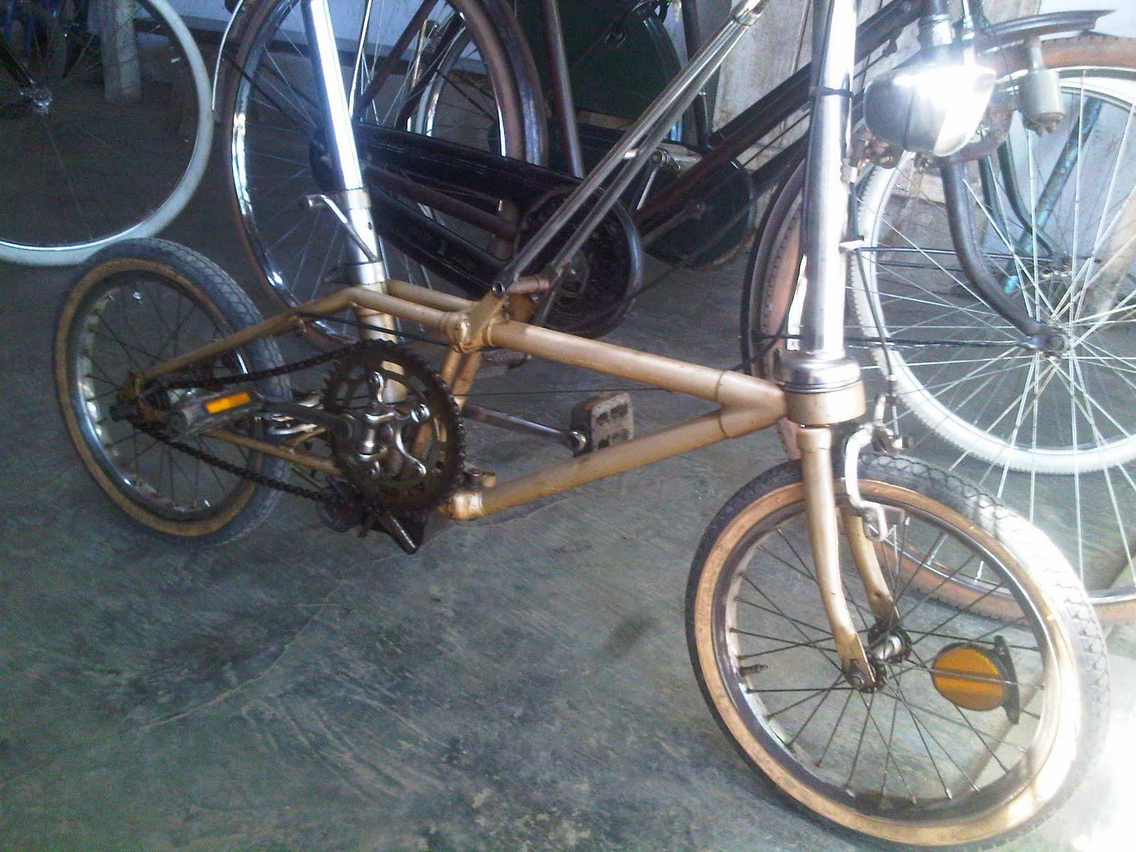 PITRONGSOK: Dijual Sepeda Lipat Dahon (Second)