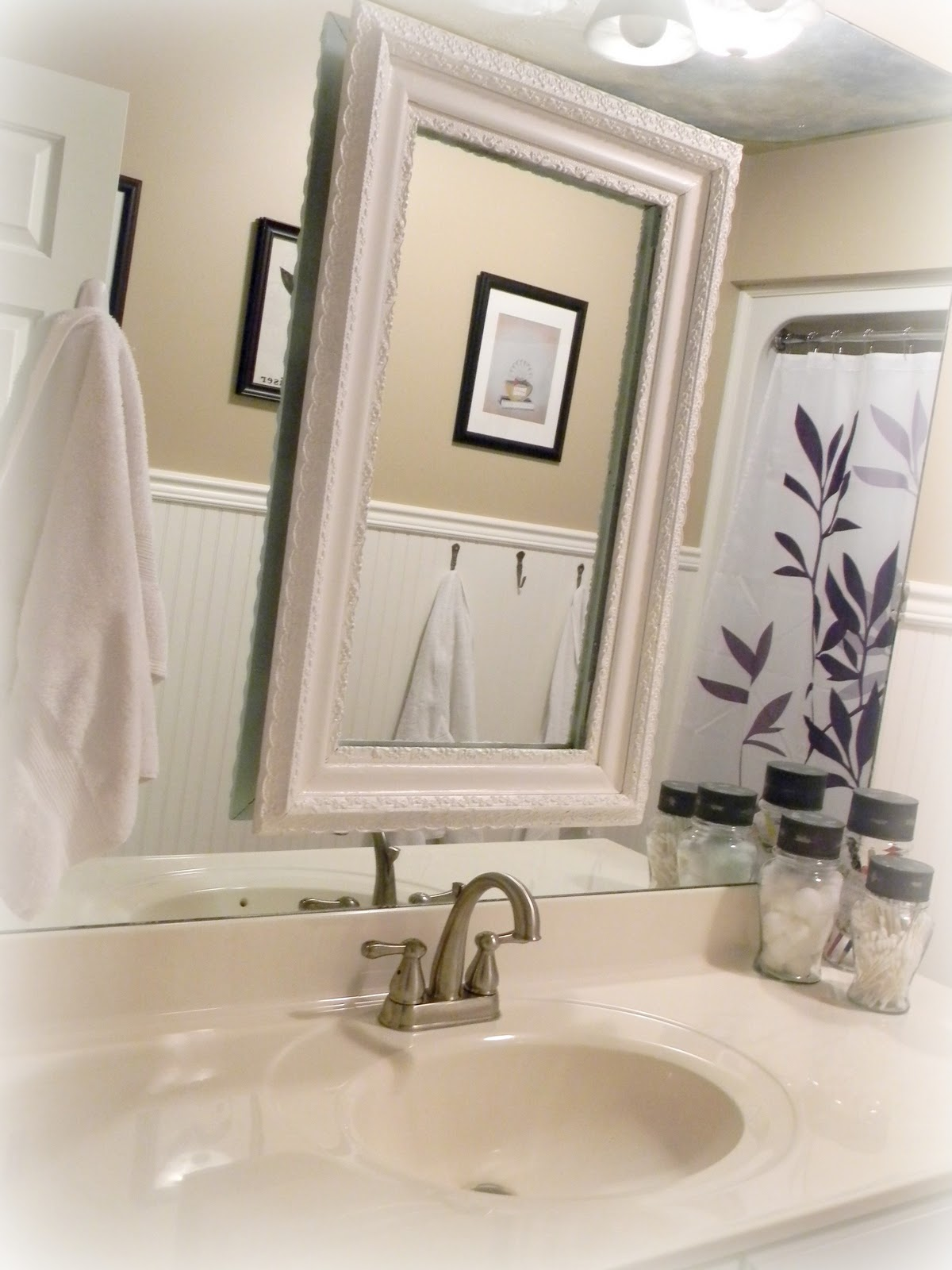 Forever decorating guest bathroom tour - How to decorate a guest bathroom ...