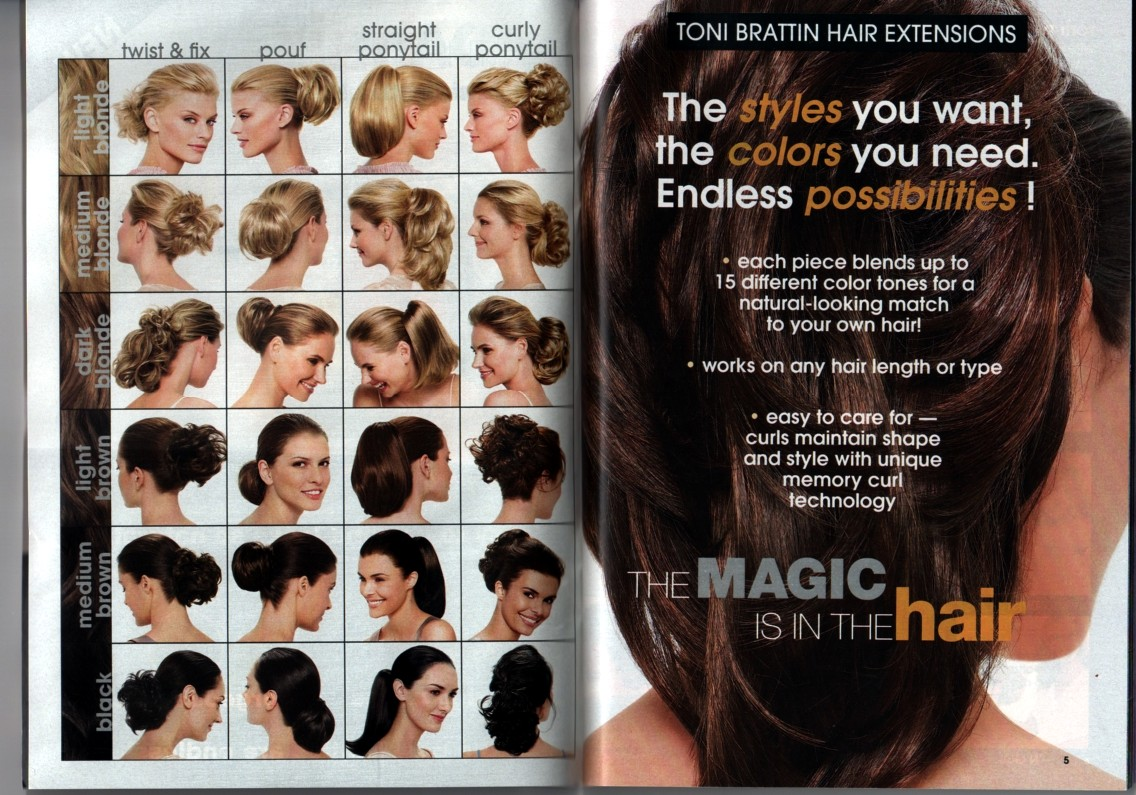 lil Country Paws  Avon - Toni Brattin Hair Extensions 92b8de331950
