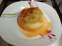 recettes dessert  Flan de semoule au caramel