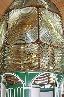 Florida lighthouses - fresnel lens