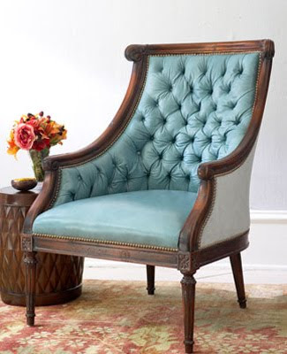 Merveilleux ... I May Try To Make With My New U201ctuftingu201d Knowledge. This Turquoise Chair  Is On My U201cto Findu201d List. I Just Need To Find A Classic Chair To Reupholster.