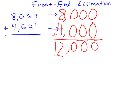 Mr O Brien S 4th Grade Blog Estimating Adding And
