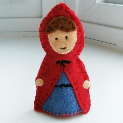 little red riding hood finger puppets moka amp moquette agosto 2010 7815