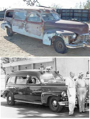 1948 CADILLAC 75 SERIES - 1948 AMBULANCE by OHIO COACH