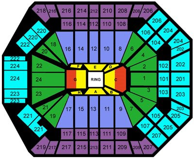 Mgm Grand Garden Arena Seats
