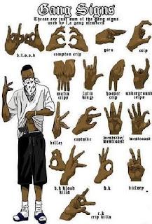 signs in hands just for blood piru | Blood Piru Knowledge