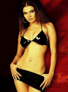 Bra Panty Rakhi Sawant hot bikini photos