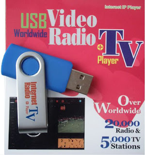 Usb internet radio + TV player