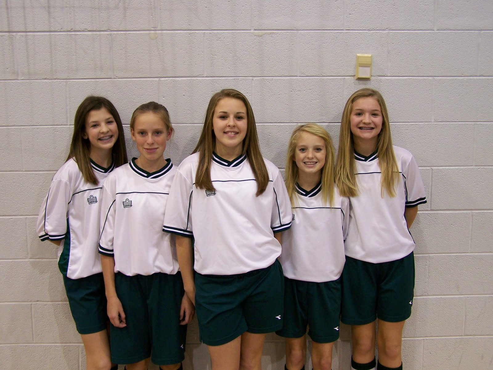 Middle School Girls Team