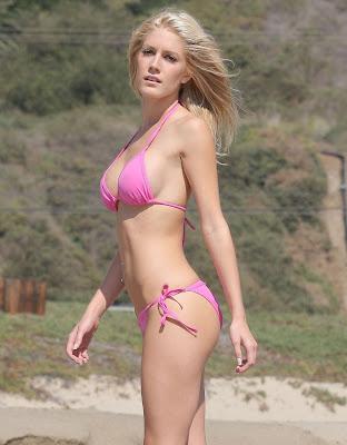 heidi montag 2011 bikini. Heidi Montag a Hot Blonde in a