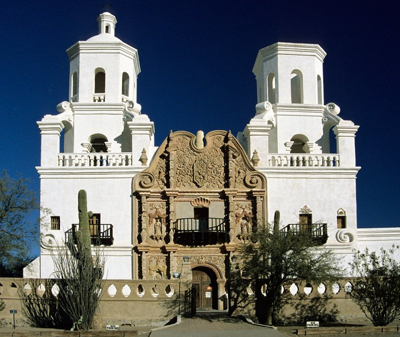 Freedom Through Truth: San Xavier Del Bac - White Dove of ...