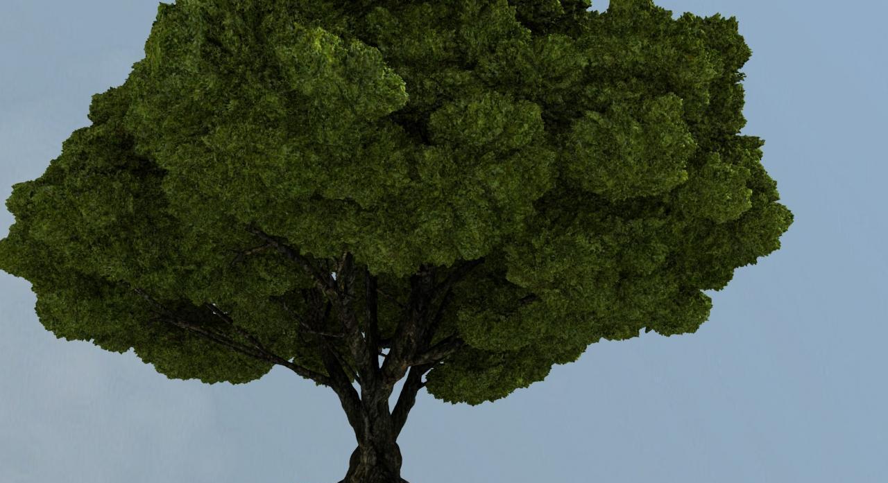Procedural World: A Voxel Tree